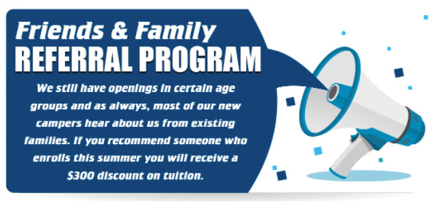 Friends and Family Referral Program